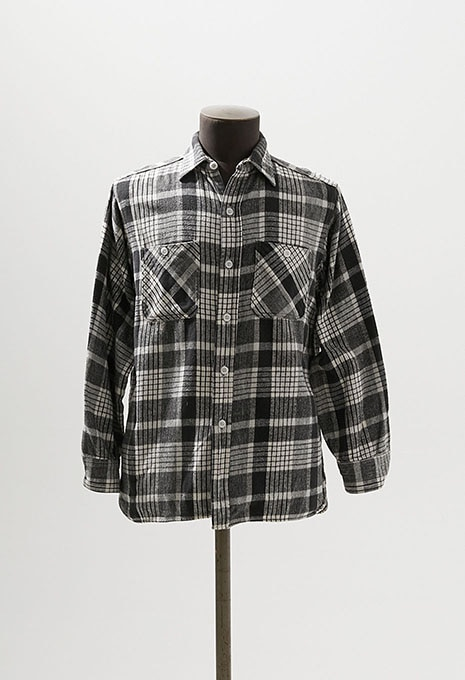 USED W.T.GRANT FLANNEL L/S SHIRTS