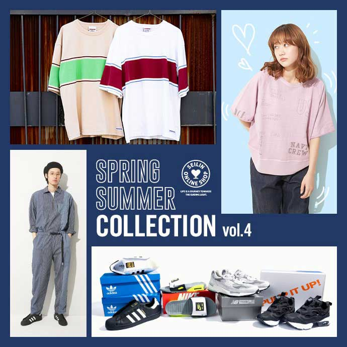 SEILIN&Co. SPRING/SUMMER COLLECTION VOL.4
