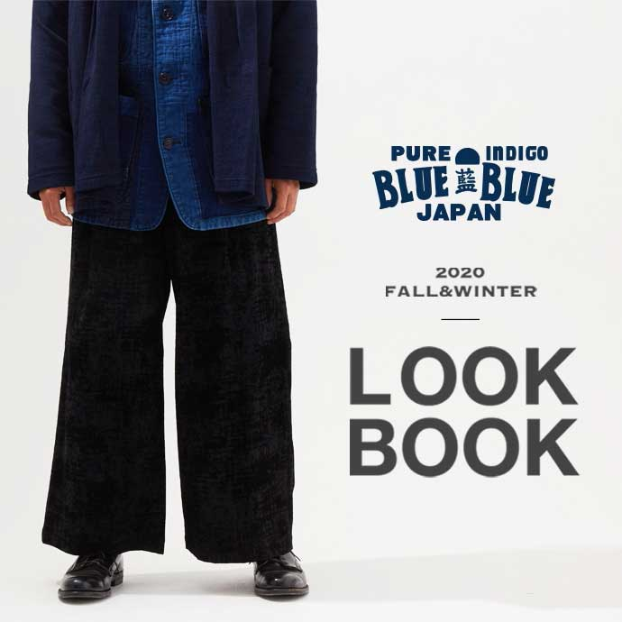 BLUE BLUE JAPAN 2020 FALL&WINTER LOOKBOOK
