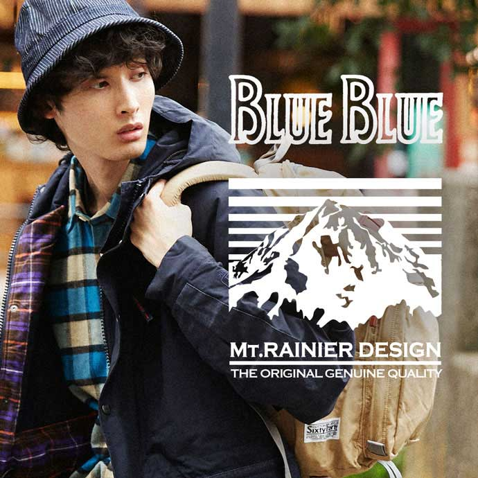 MT.RAINIER DESIGN・BLUE BLUE