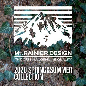 MT.RAINIER DESIGN 2020 SPRING&SUMMER COLLECTION