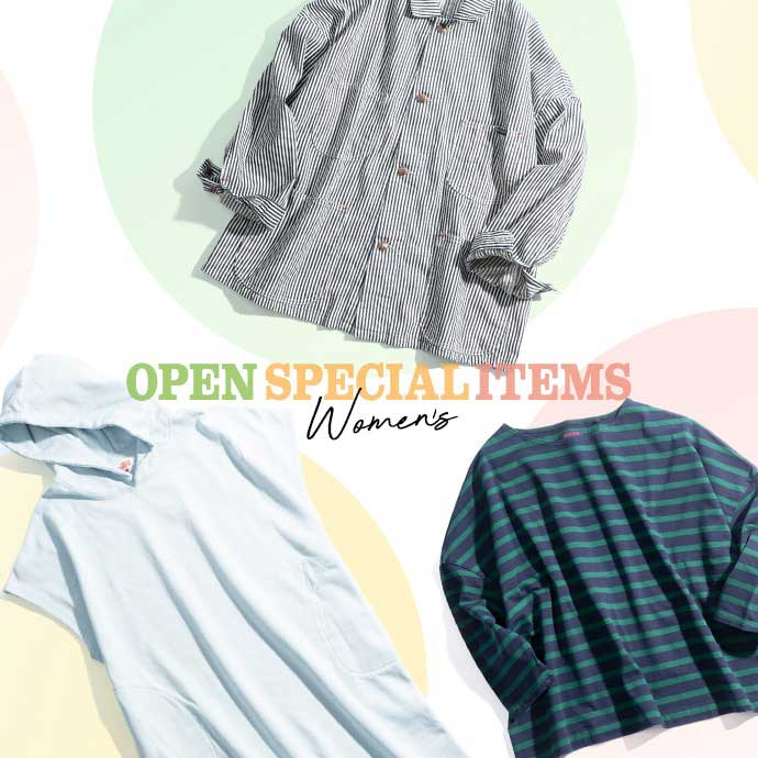 OPEN SPECIAL ITEMS ~WOMEN'S~