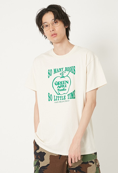 GREEN APPLE BOOKS SO MANY BOOKS Tシャツ