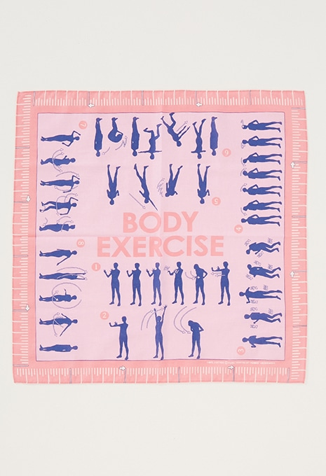 BODY EXERCISE バンダナ