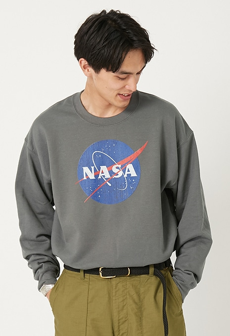 NASA MEATBALL LOGO スウェット