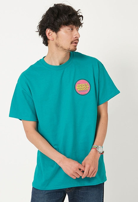 BISOUS SKATEBOARDS CIRCLE Tシャツ