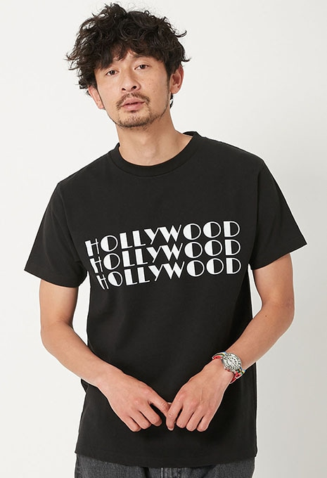 SCREEN STARS・HRM 3HOLLYWOOD Tシャツ