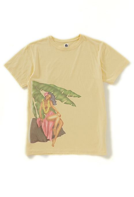A GIRL ON THE FRONT ショートスリーブTシャツ