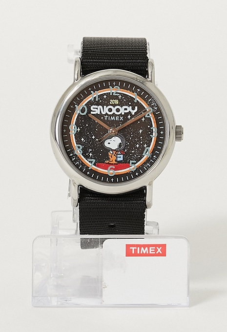 TIMEX SPACE SNOOPY WEEEKENDER 38mm FABRIC STRAPウォッチ