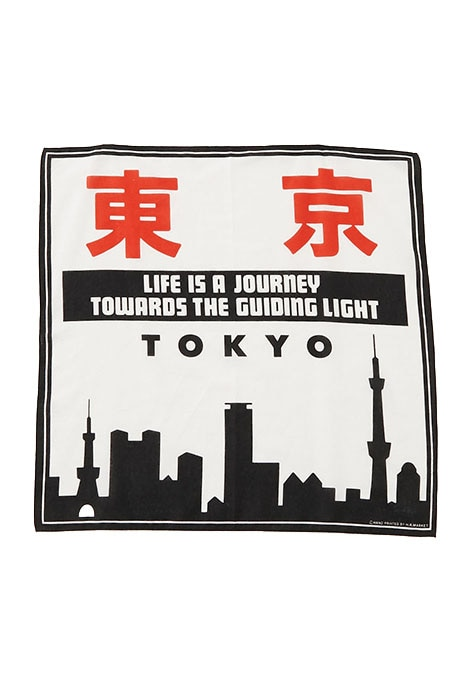 LIFE IS A JOURNEY TOKYO バンダナ