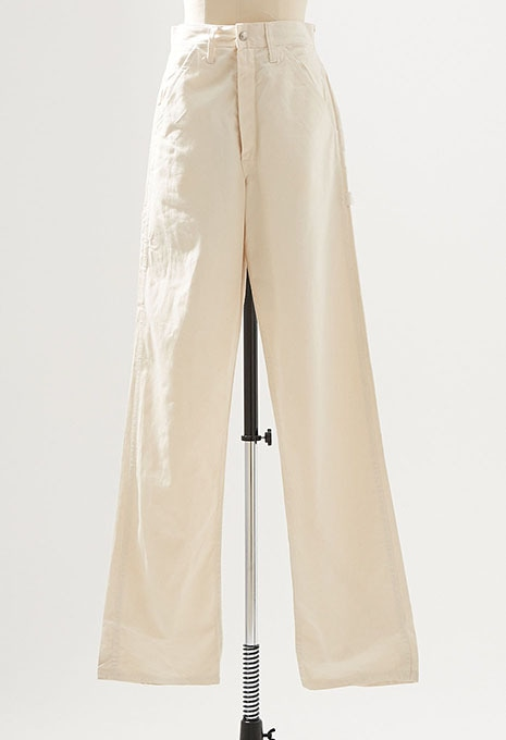 DEADSTOCK UNIVERSAL OVERALL NATURAL PAINTER PANTS