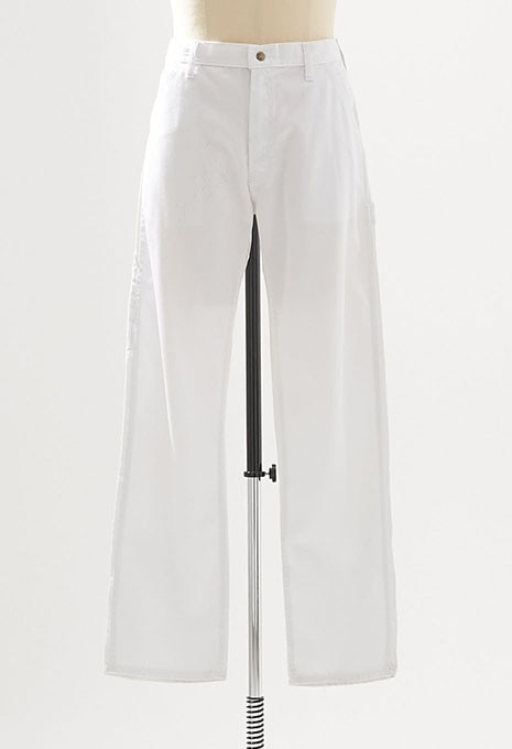 USED CARTERS WHITE PAINTER PANTS