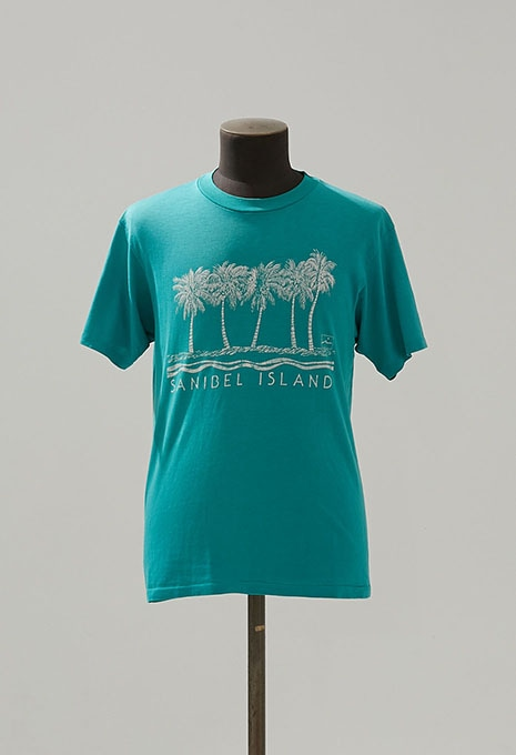 USED SANIBEL ISLAND PRINT S/S T-SHIRTS