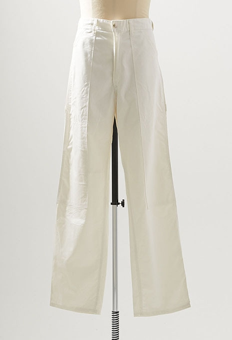 USED UNIVERSAL OVERALL WHITE PAINTER PANTS