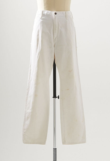 USED SHERWIN WILLIAMS WHITE PAINTER PANTS