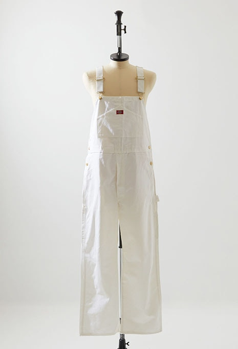 DEADSTOCK DICKIES OVERALL WHITE