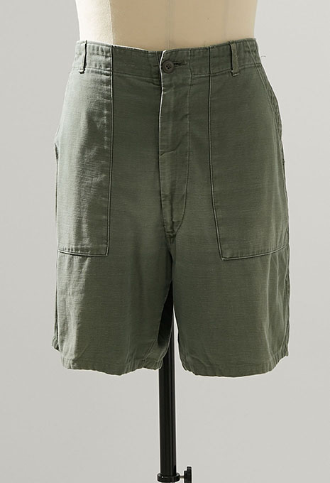 USED US ARMY FATIGUE SHORTS