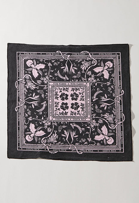 USED COSTA RICA BANDANA