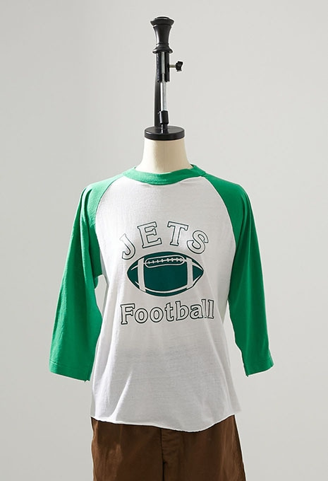 USED NEW YORK JETS FOOTBALL TEE
