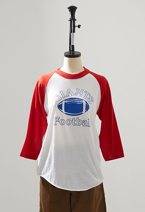 USED NEW YORK GIANTS FOOTBALL TEE