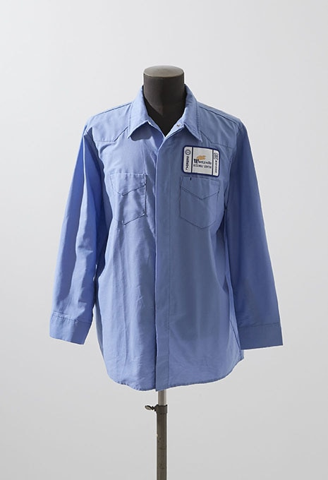 VINTAGE CLAEN INDUSTRIAL SERVICES WORK SHIRT