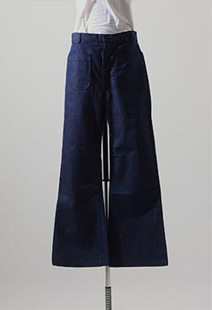 DEADSTOCK 80s US NAVY DENIM SAILOR UTILITY TROUSERS