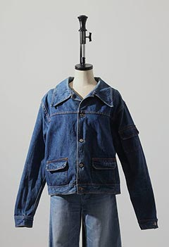 VINTAGE DENIM SHORT JACKET